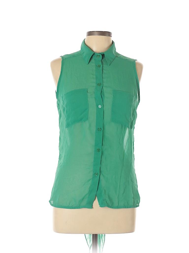 Do & Be Women Sleeveless Blouse Size L