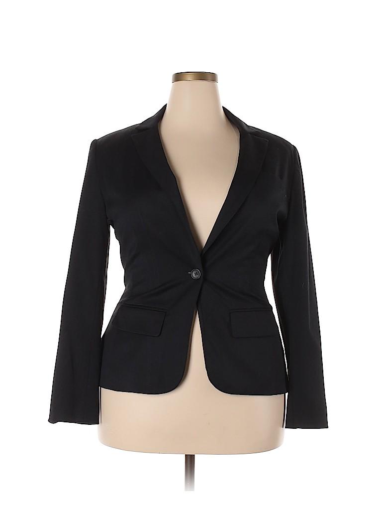 Black Women Blazer Size 14