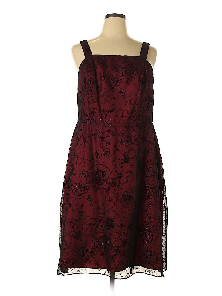 Jessica Howard Women Cocktail Dress Size 18 (Plus)