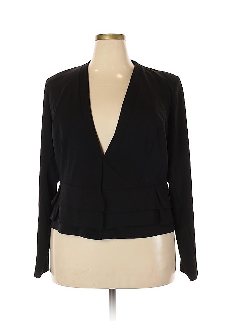 City Chic Women Blazer Size 20 Plus (L) (Plus)