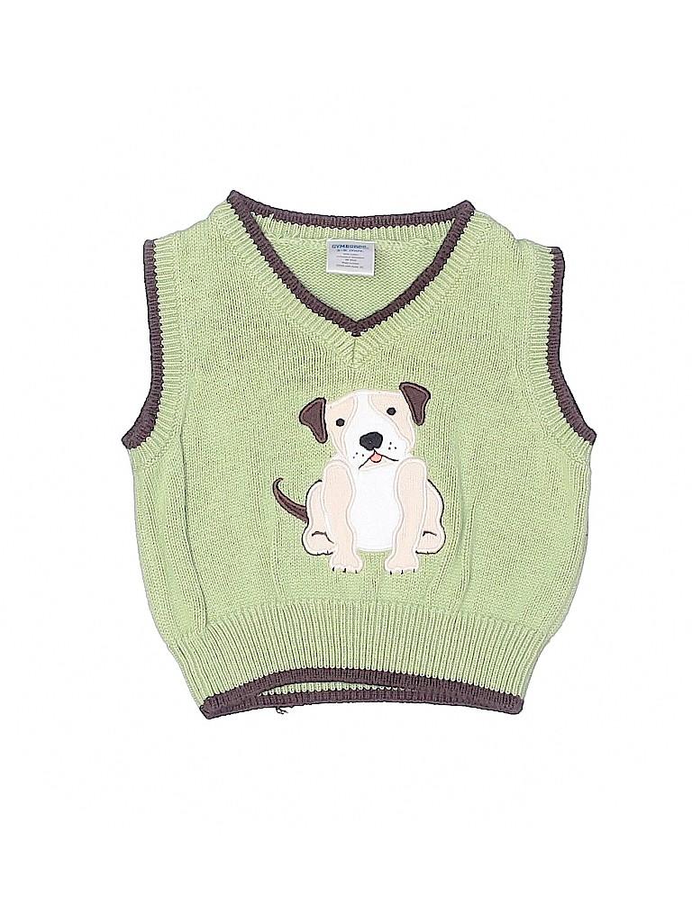 Gymboree Boys Sweater Vest Size 3-6 mo