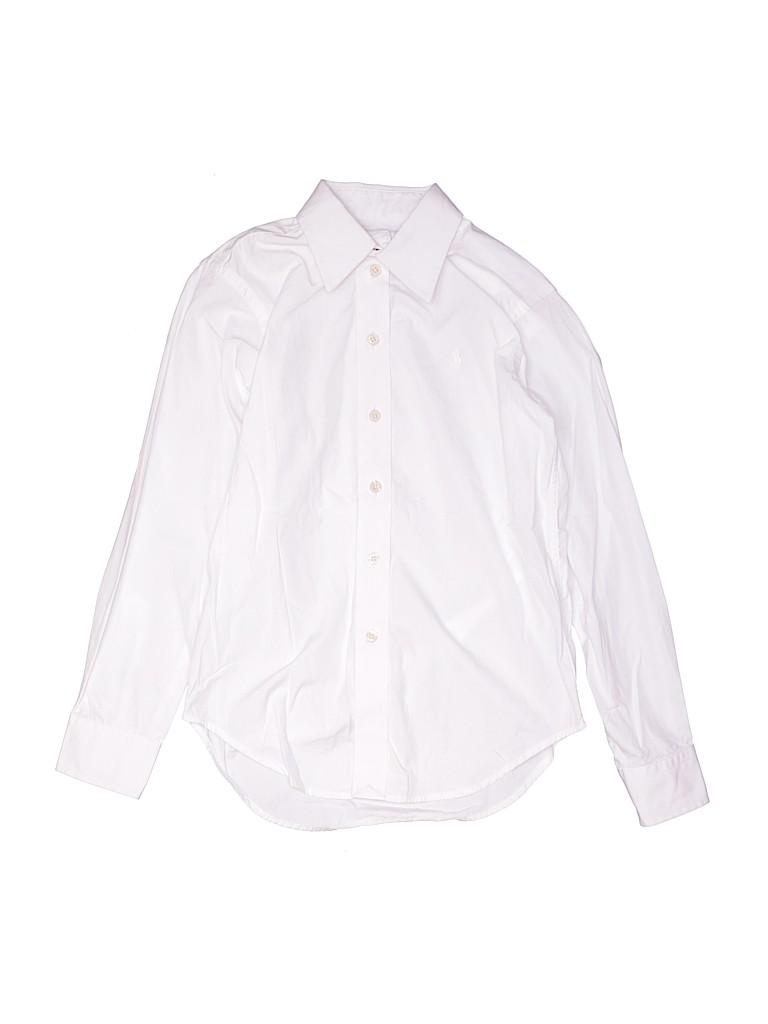 Polo by Ralph Lauren Boys Long Sleeve Button-Down Shirt Size 10