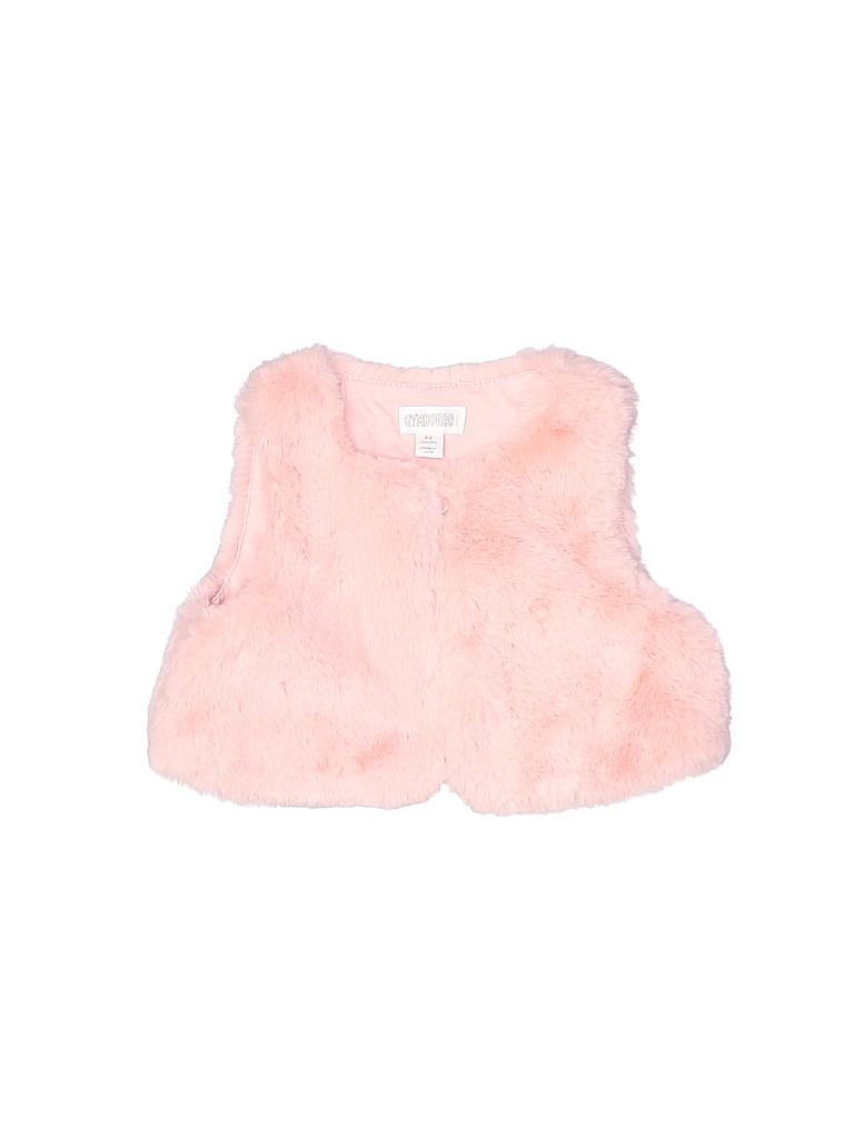 Gymboree Girls Faux Fur Vest Size 3-6 mo