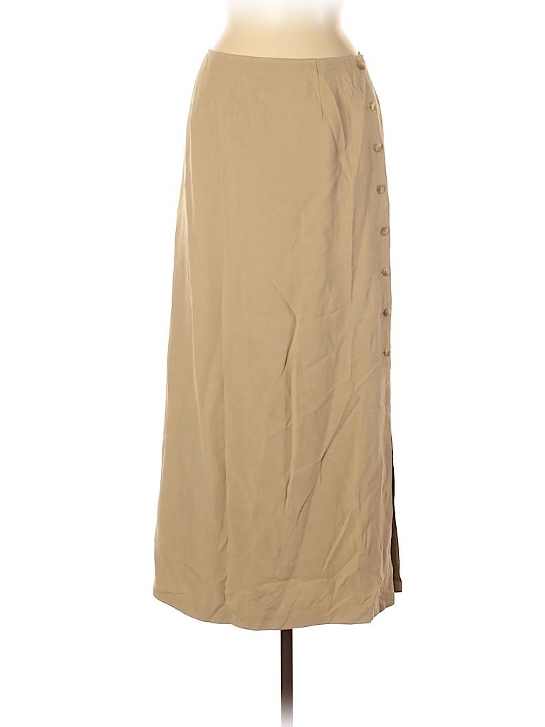Talbots Women Silk Skirt Size 8
