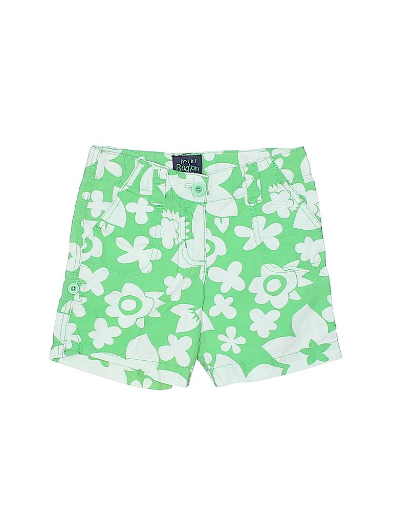 Mini Boden Girls Shorts Size 3-4