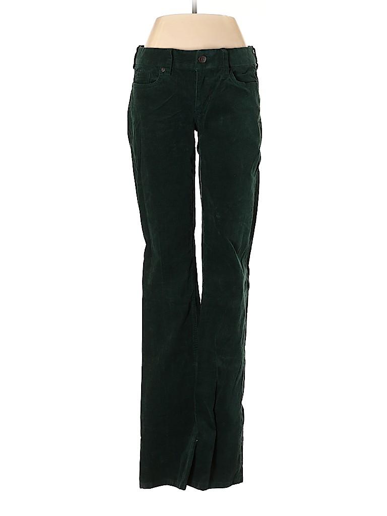 J. Crew Women Velour Pants 27 Waist