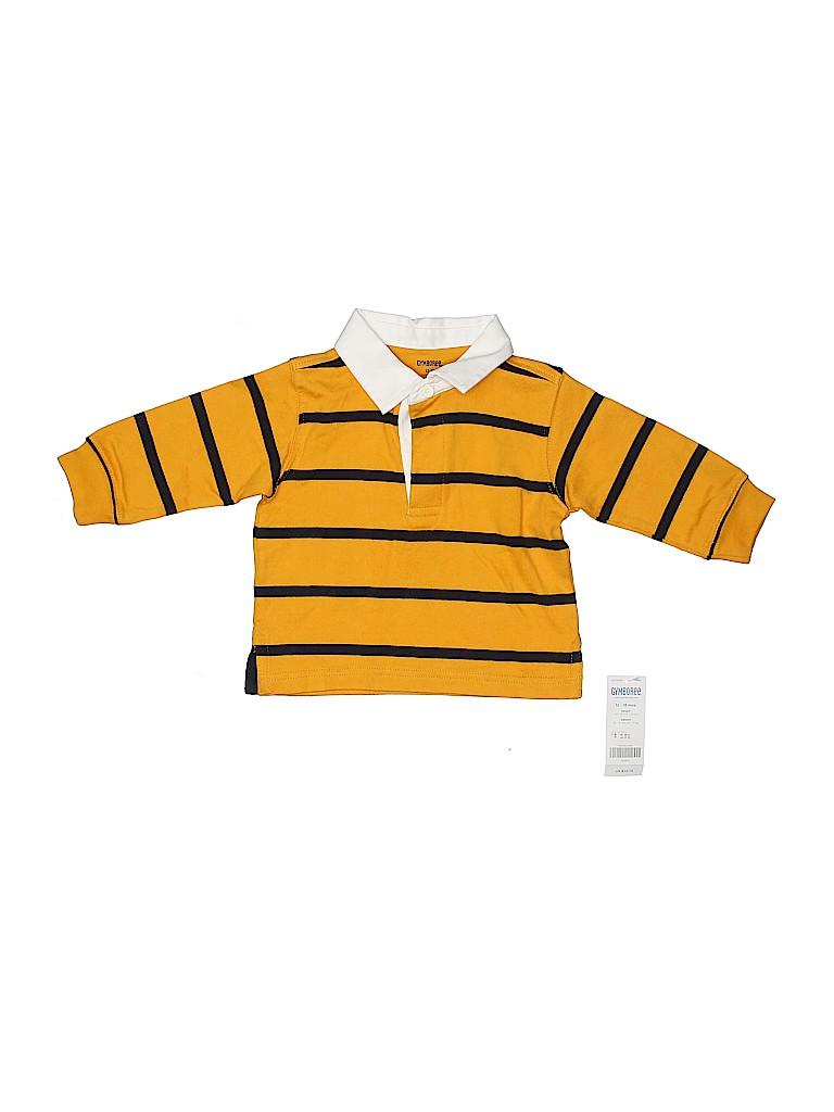 Gymboree Boys Long Sleeve Polo Size 12-18 mo
