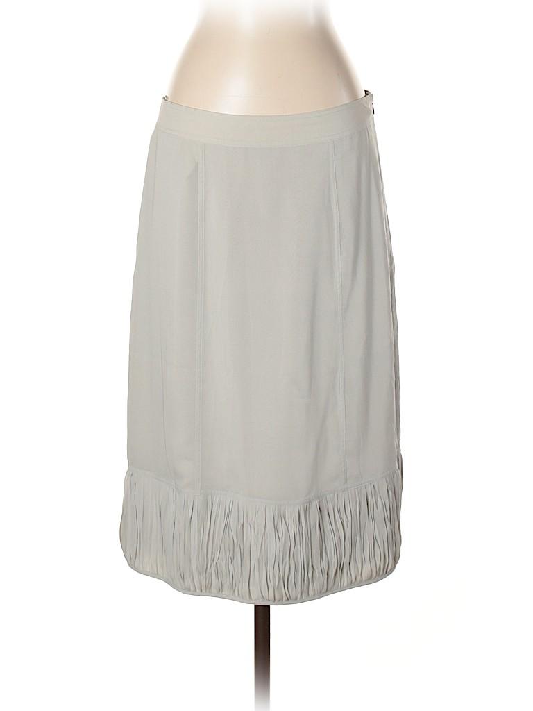 Burberry Women Silk Skirt Size 8