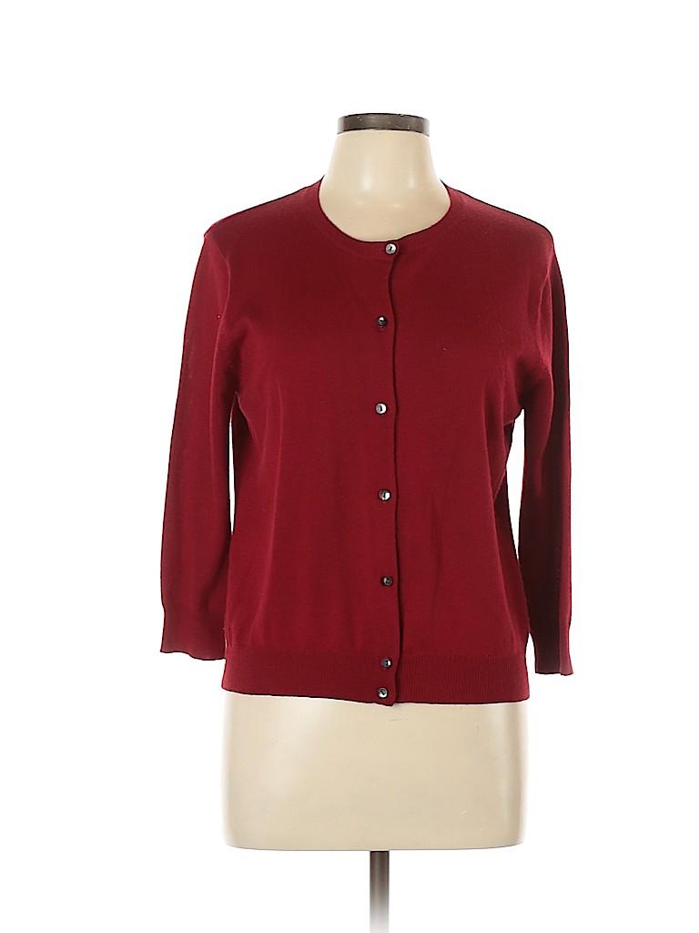 Ann Taylor LOFT Women Wool Cardigan Size M