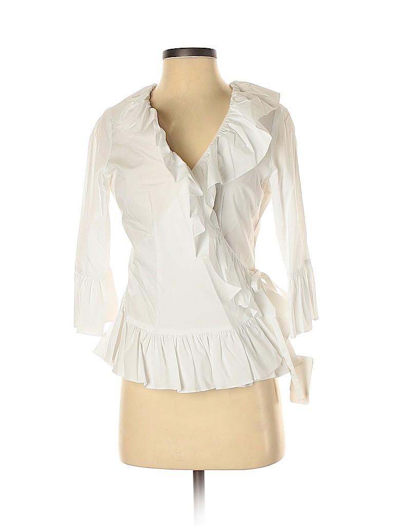 Doncaster Women 3/4 Sleeve Blouse Size 2