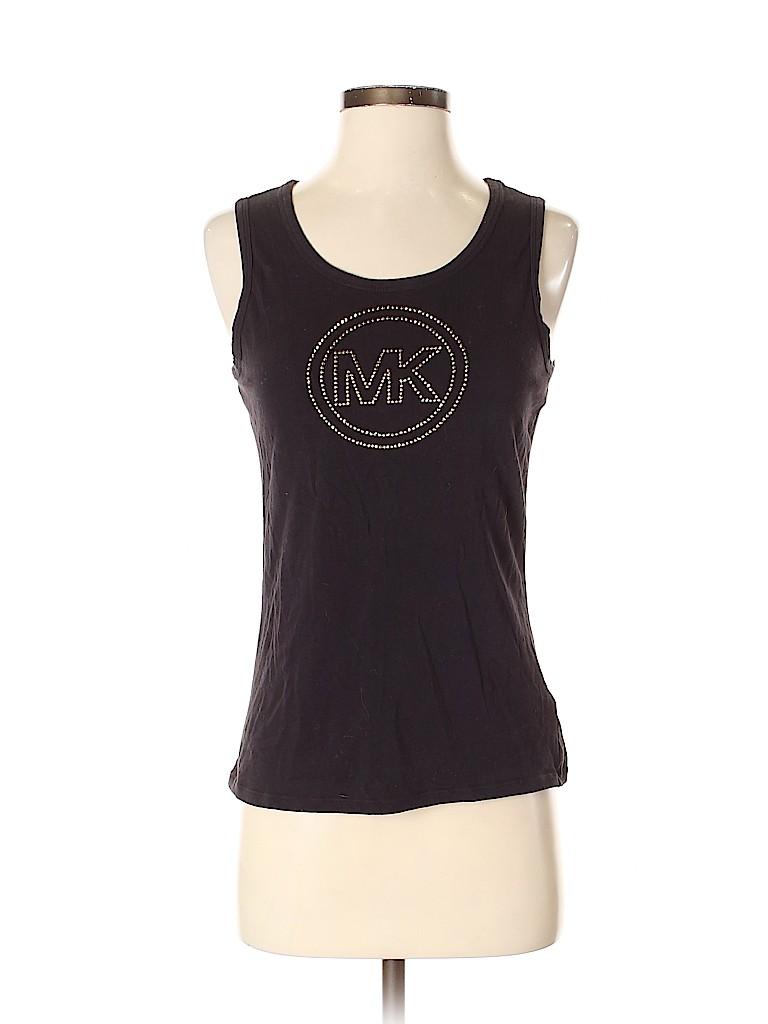MICHAEL Michael Kors Women Sleeveless T-Shirt Size S
