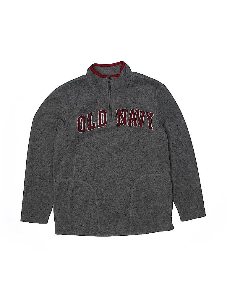 Old Navy Boys Fleece Jacket Size 10 - 12