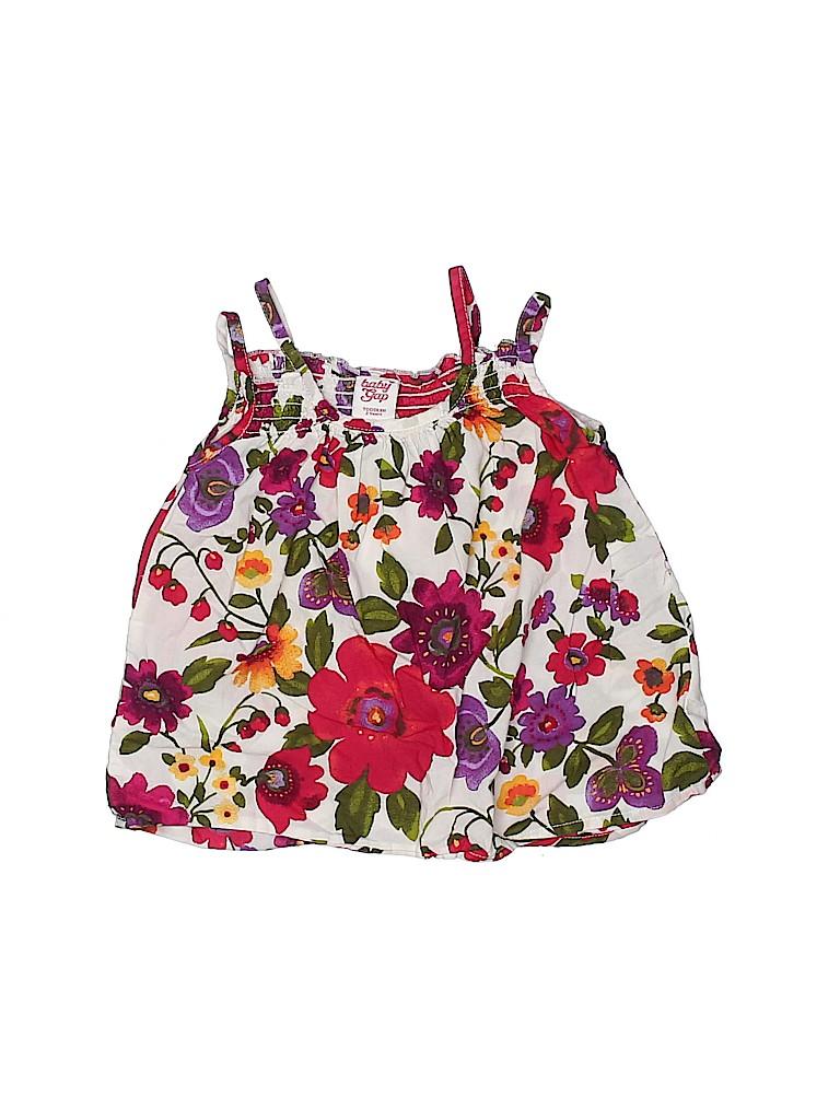 Baby Gap Girls Sleeveless Blouse Size 2