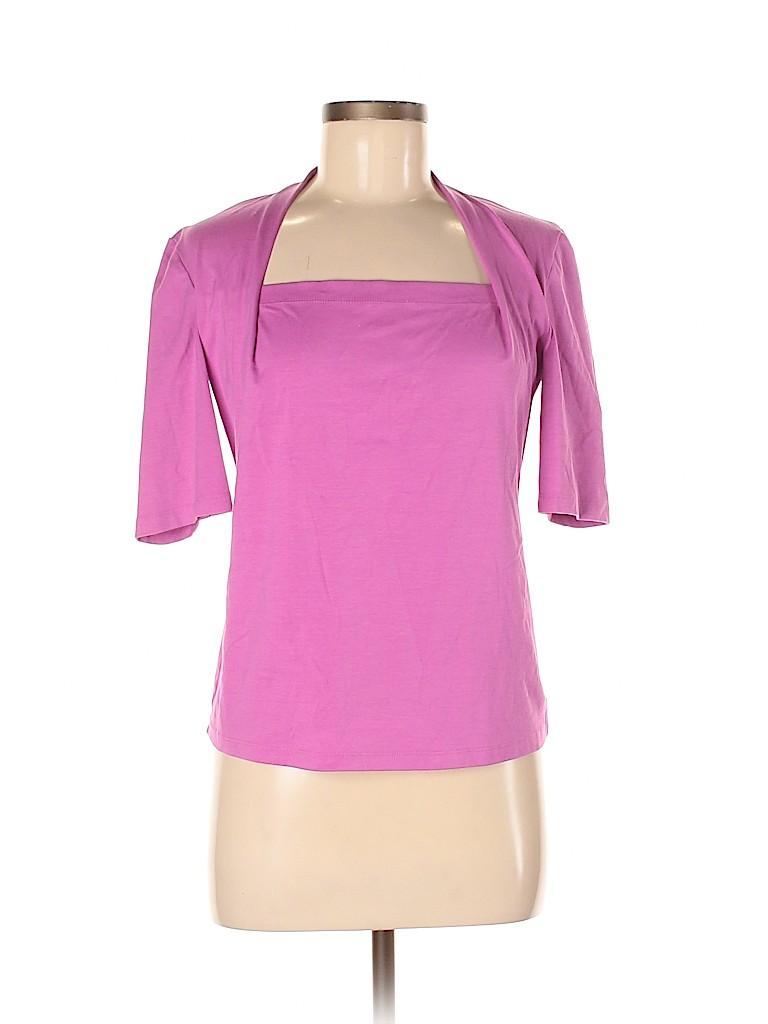 Lafayette 148 New York Women 3/4 Sleeve Top Size M