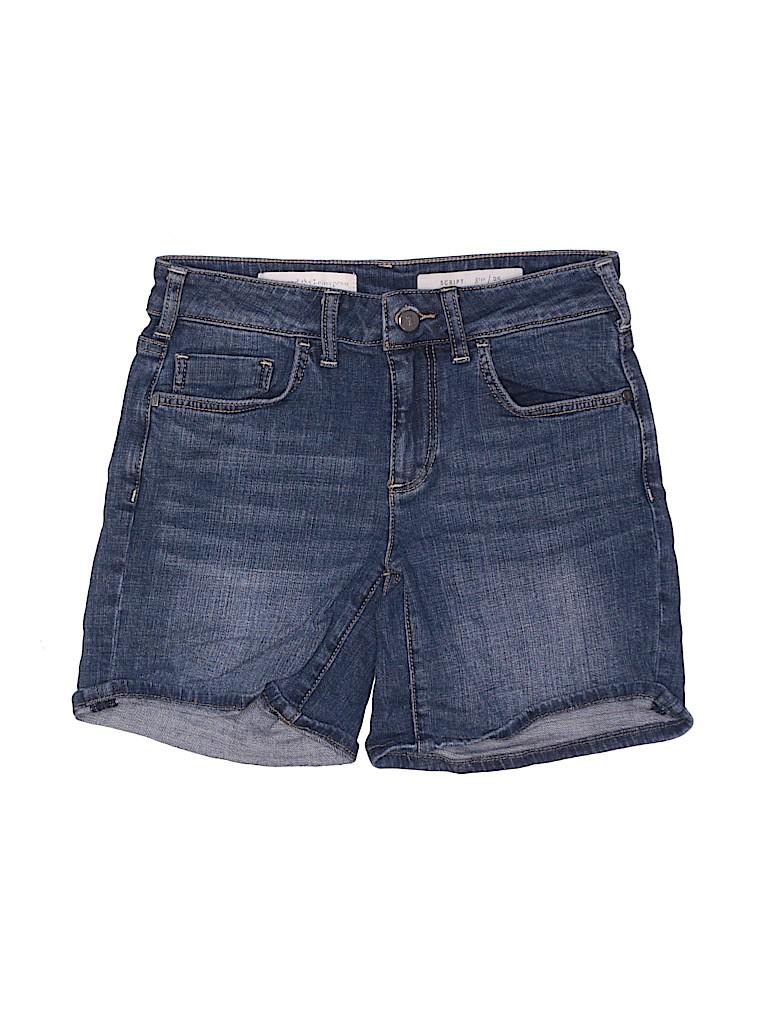 Pilcro and The Letterpress Women Denim Shorts 25 Waist