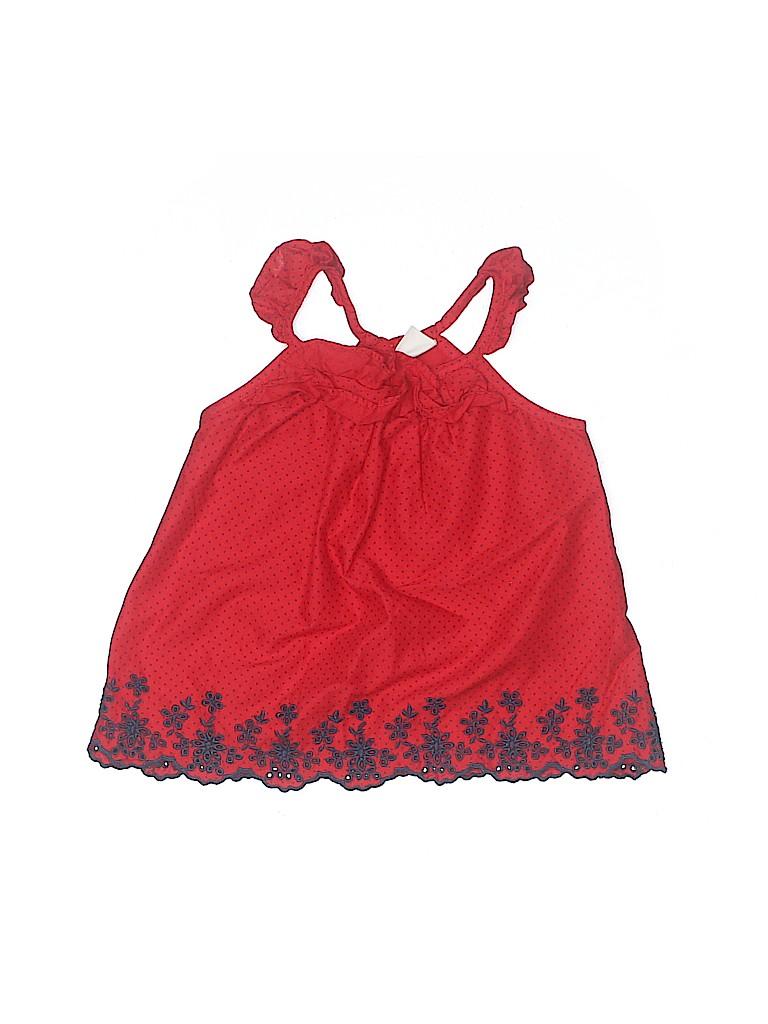 Baby Gap Girls Sleeveless Blouse Size 3T