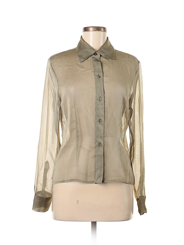 Express Women Long Sleeve Blouse Size 7 - 8