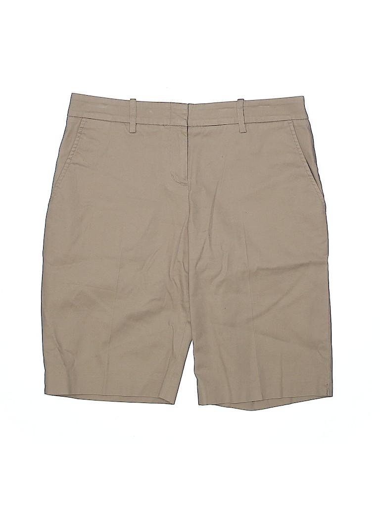 BCBGMAXAZRIA Women Khaki Shorts Size 2