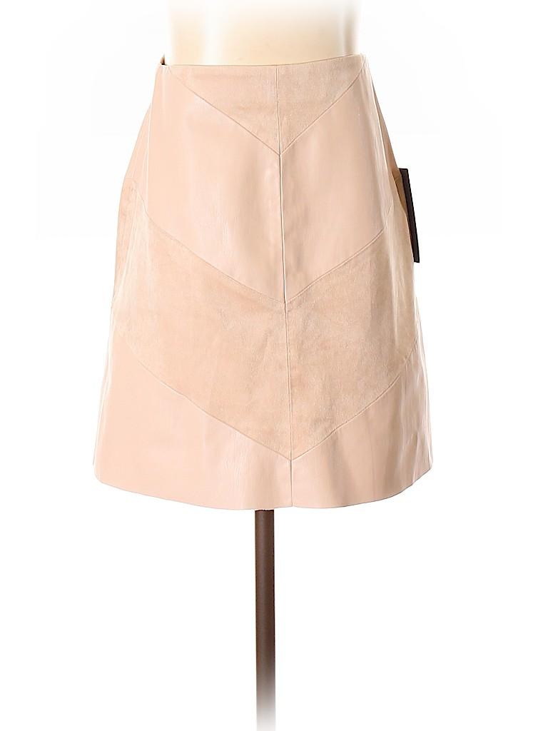 Zara Basic Women Faux Leather Skirt Size XS