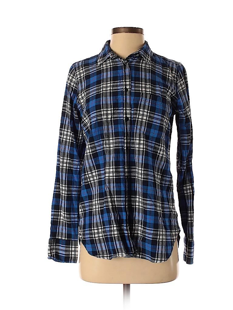 J. Crew Women Long Sleeve Button-Down Shirt Size 2