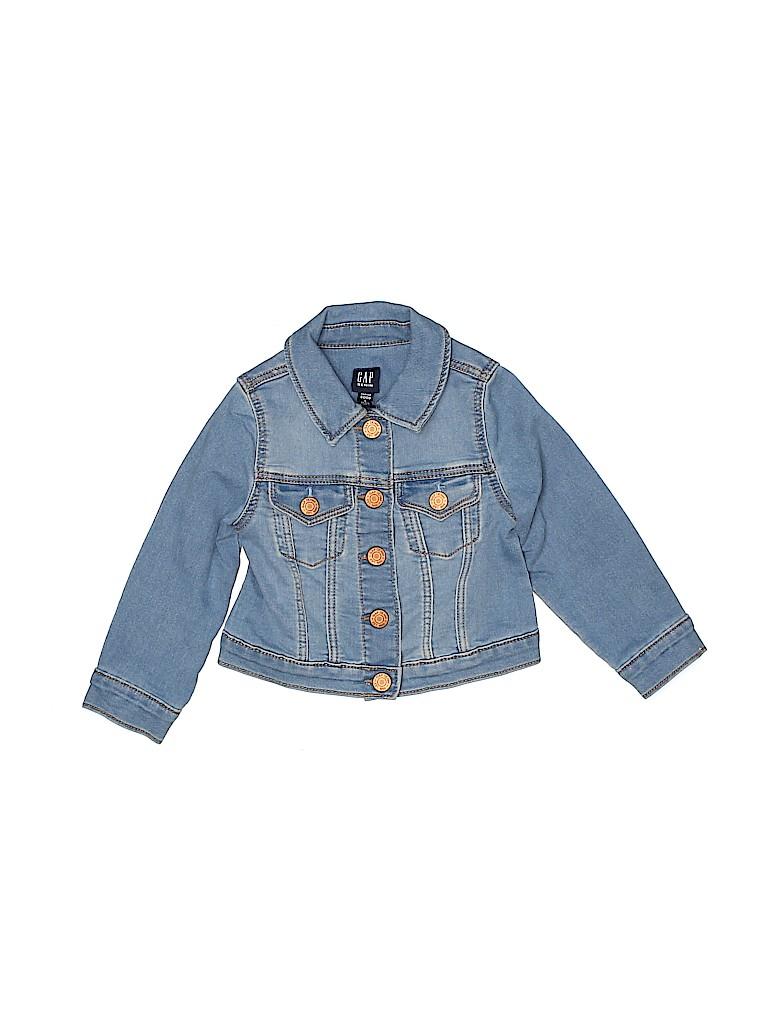 Gap Girls Denim Jacket Size 2