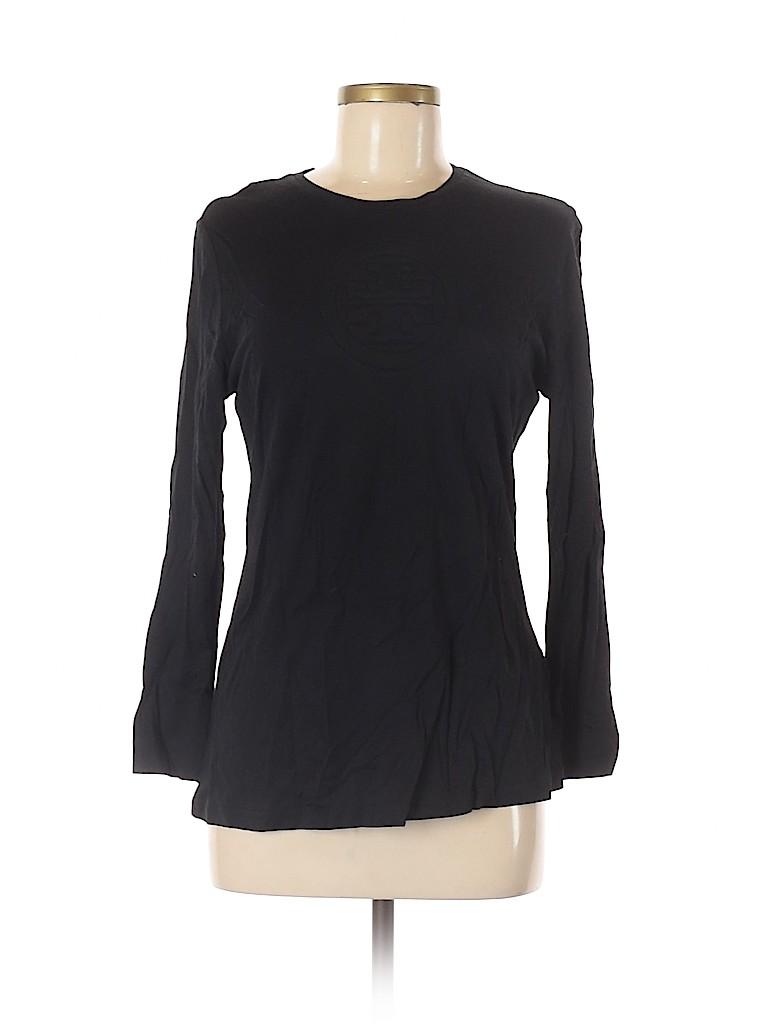 Tory Burch Women Long Sleeve Top Size L