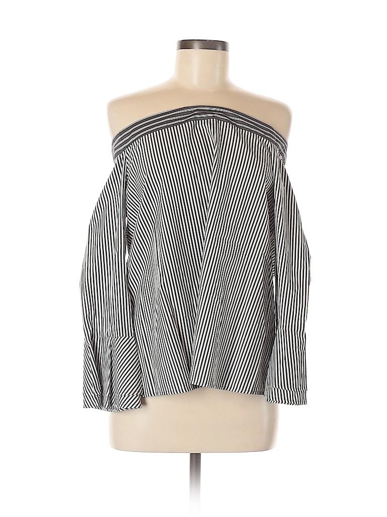 Ann Taylor LOFT Women 3/4 Sleeve Blouse Size M