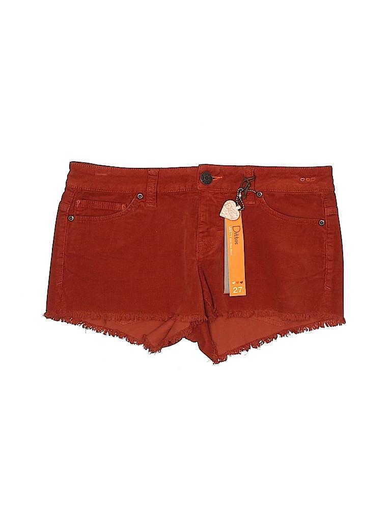Dittos Women Shorts 27 Waist