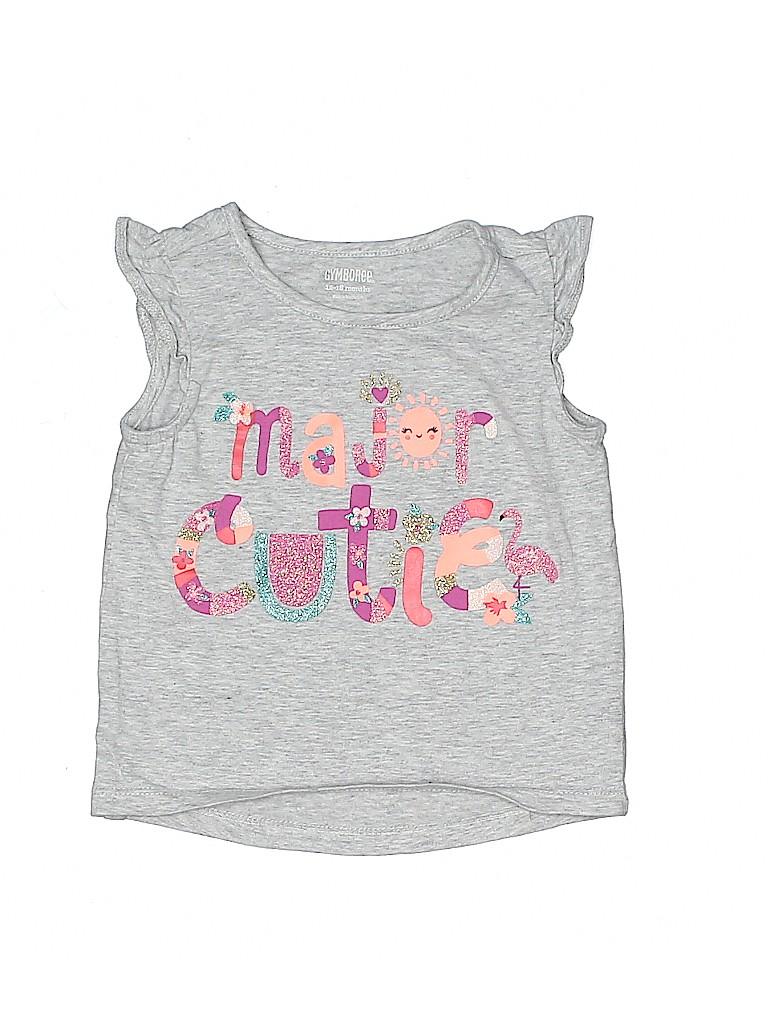Gymboree Girls Short Sleeve Top Size 12-18 mo