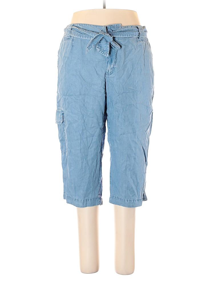 Liz Claiborne Women Cargo Pants Size 20 (Plus)