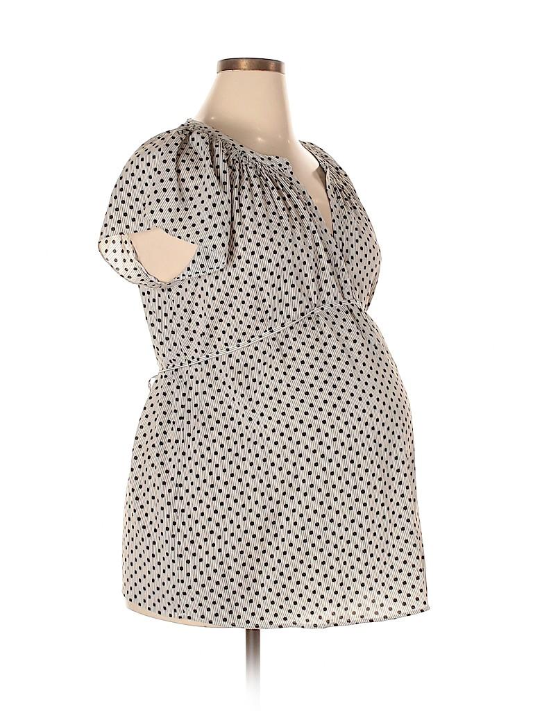 Motherhood Women Short Sleeve Blouse Size XL (Maternity)