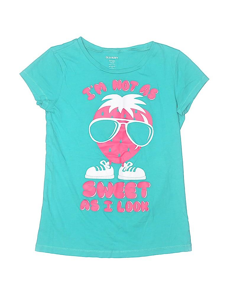 Old Navy Girls Short Sleeve T-Shirt Size 12