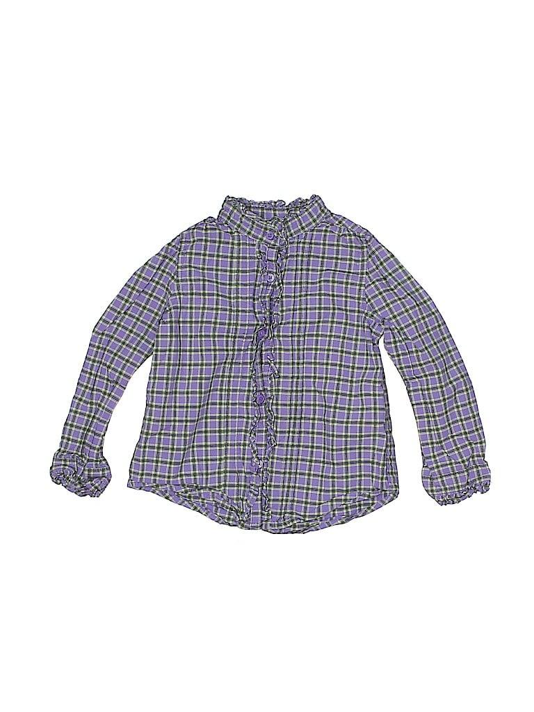 Baby Gap Girls Long Sleeve Button-Down Shirt Size 2T