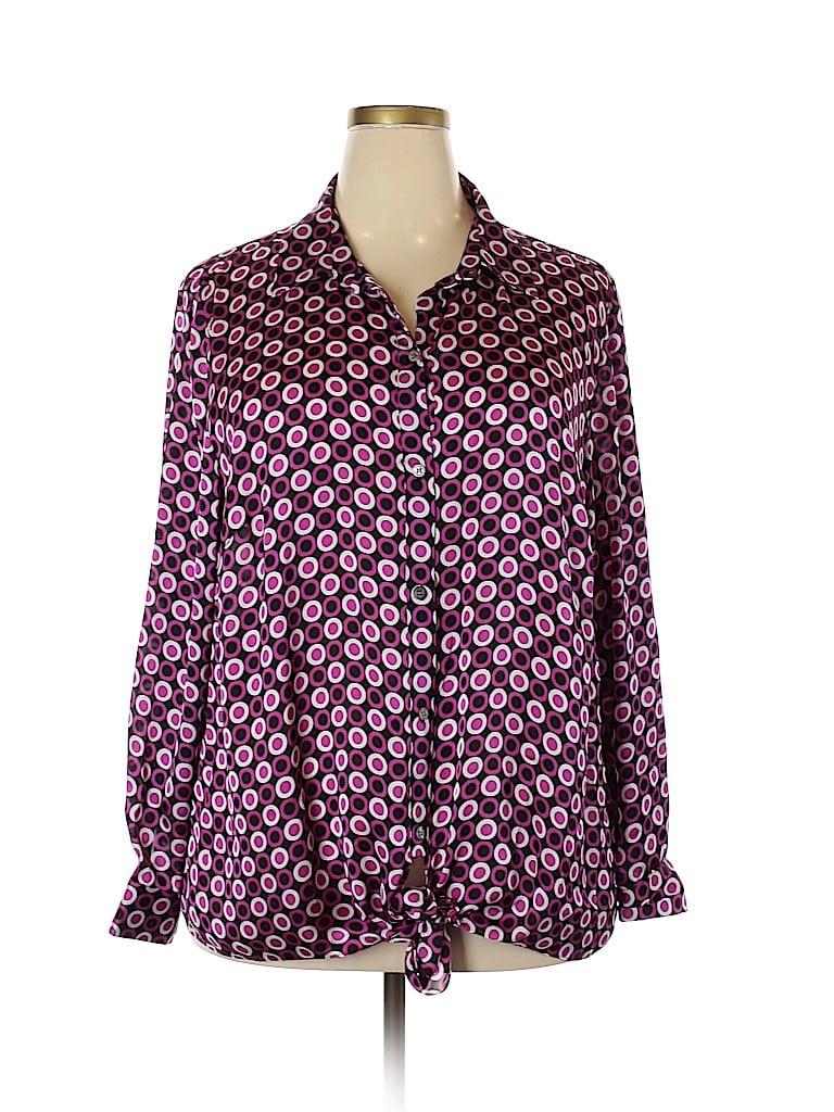 Vince Camuto Women Long Sleeve Blouse Size 3X (Plus)