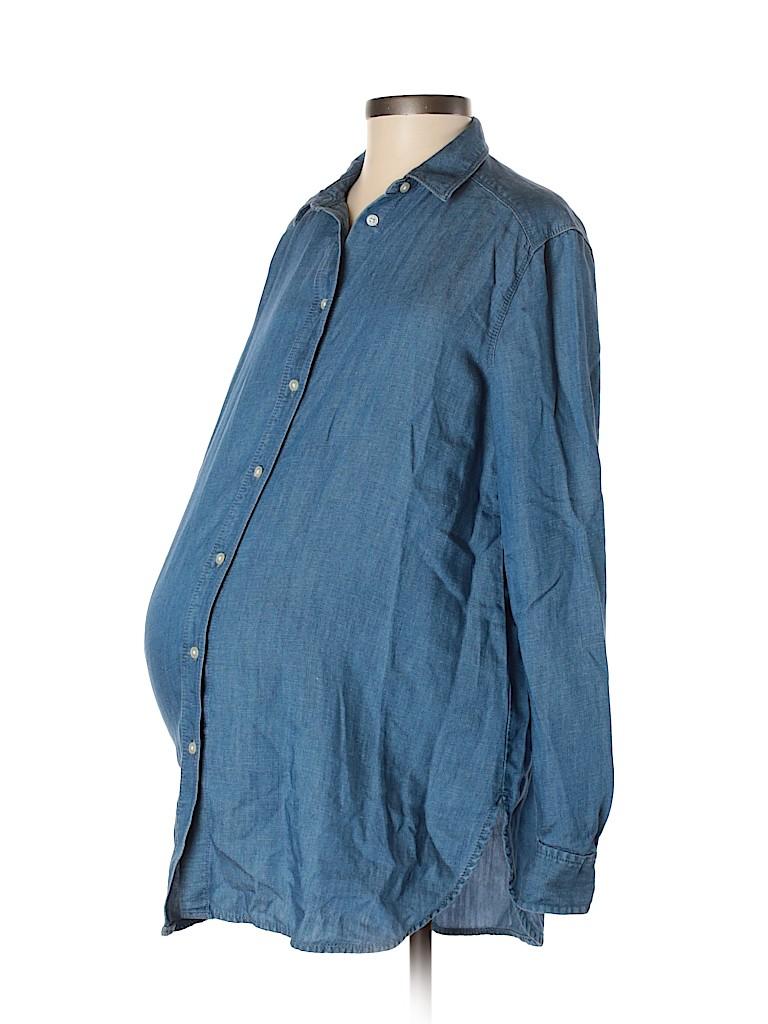 Ann Taylor LOFT Women Long Sleeve Blouse Size XS (Maternity)