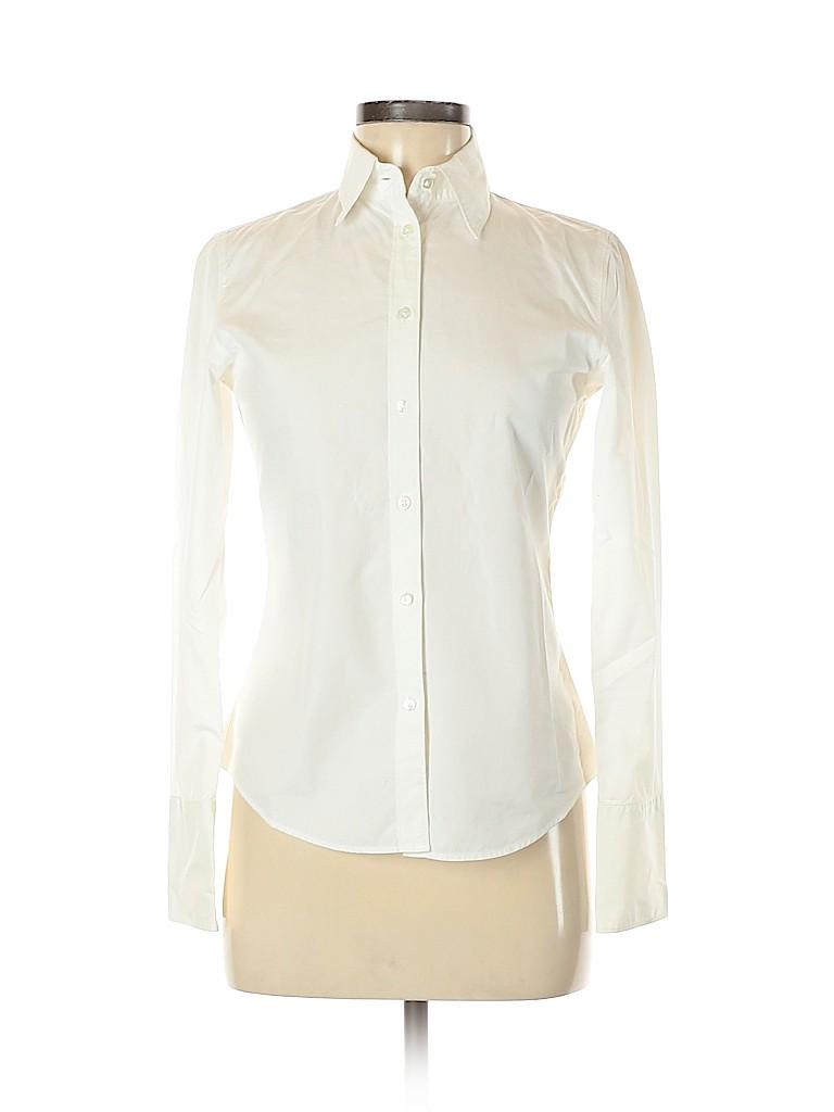 Gap Women Long Sleeve Button-Down Shirt Size 2