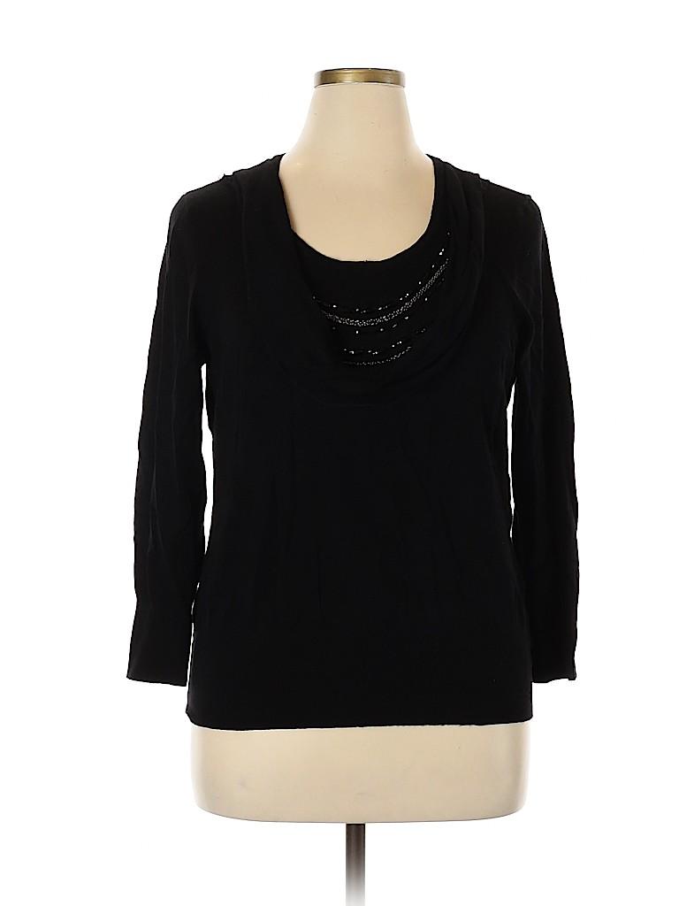 Apt. 9 Women Pullover Sweater Size 1X (Plus)