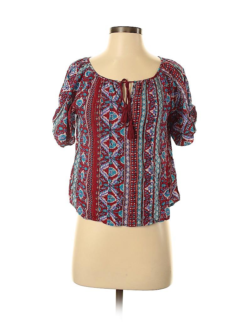 Forever 21 Women Short Sleeve Blouse Size S