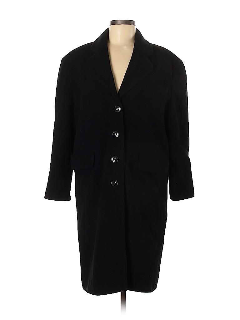 Miss Selfridge Women Wool Coat Size 8