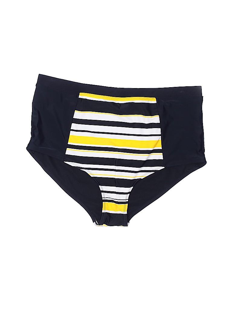 City Chic Women Swimsuit Bottoms Size 20 Plus (L) (Plus)
