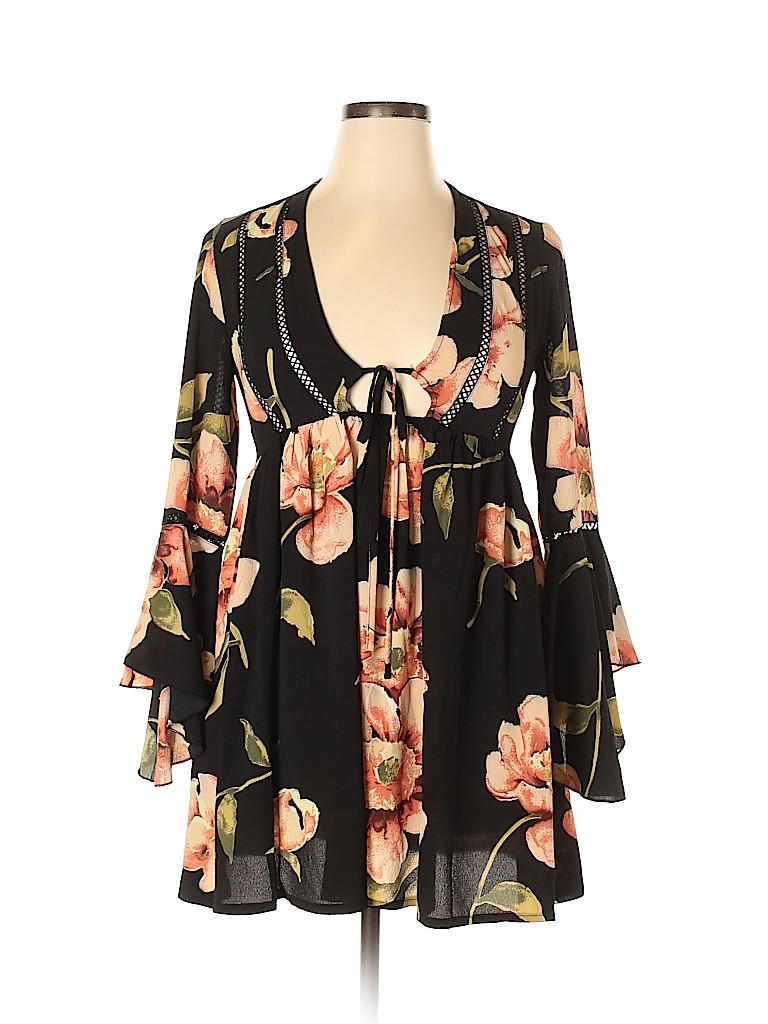 L'Atiste by Amy Women Casual Dress Size L