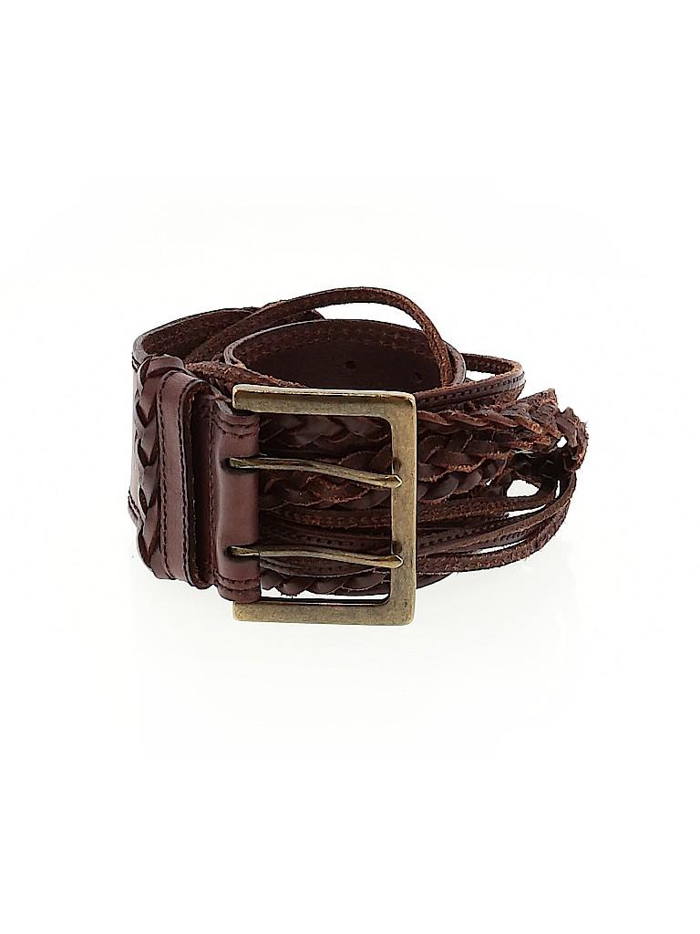 LP by Linea Pelle Women Leather Belt Size L