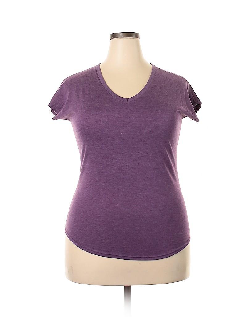Unbranded Women Short Sleeve T-Shirt Size L