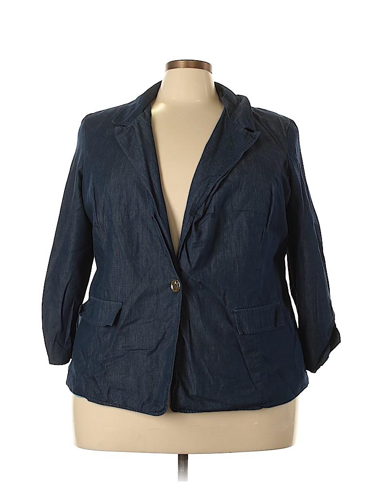 DressBarn Women Blazer Size 3X (Plus)