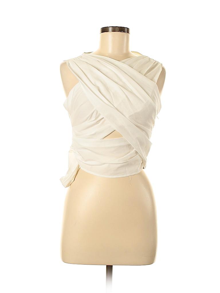 Zara Basic Women Sleeveless Blouse Size M