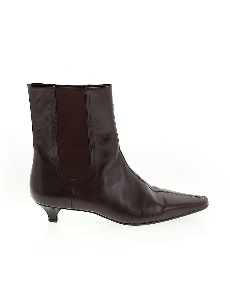 Salvatore Ferragamo Women Ankle Boots Size 7 1/2