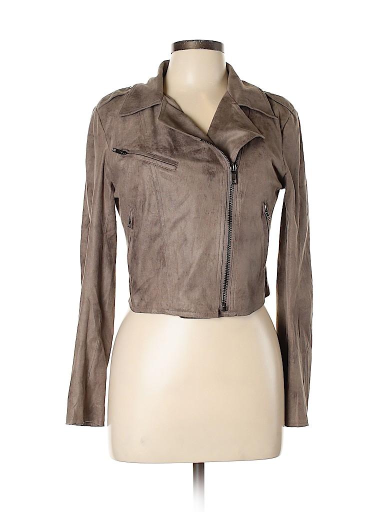 LovPosh Women Faux Leather Jacket Size M