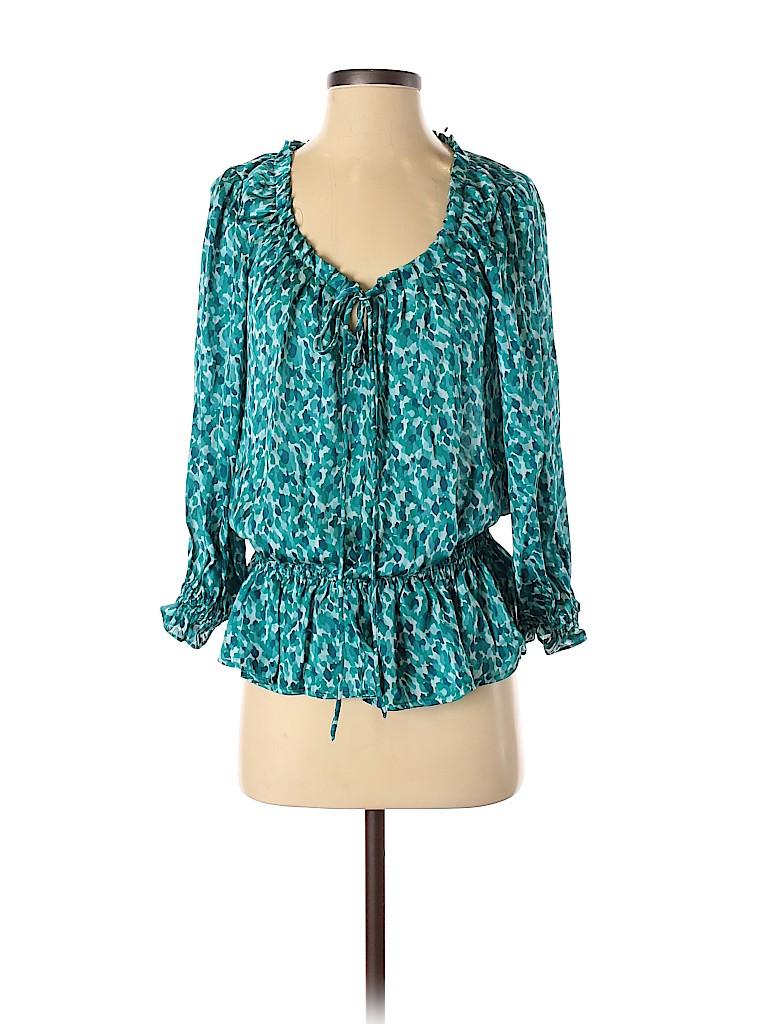 Cynthia Steffe Women Long Sleeve Blouse Size S