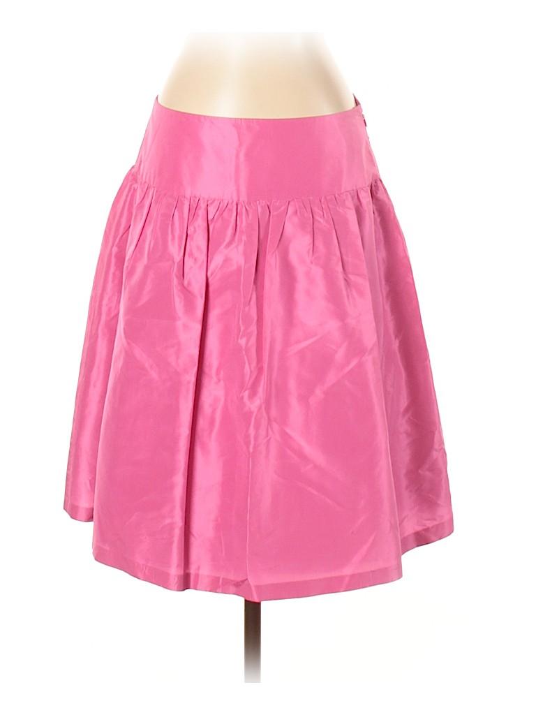 Lilly Pulitzer Women Silk Skirt Size 4