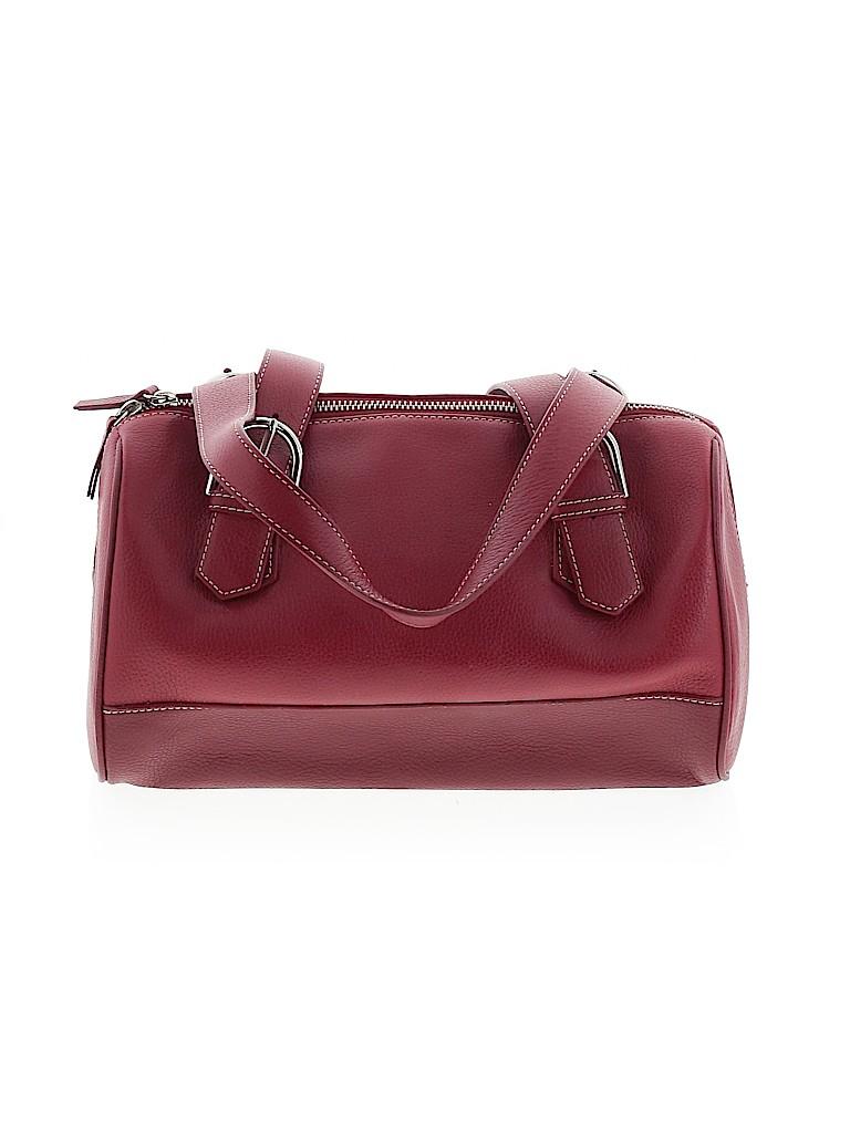 Ann Taylor LOFT Women Leather Satchel One Size